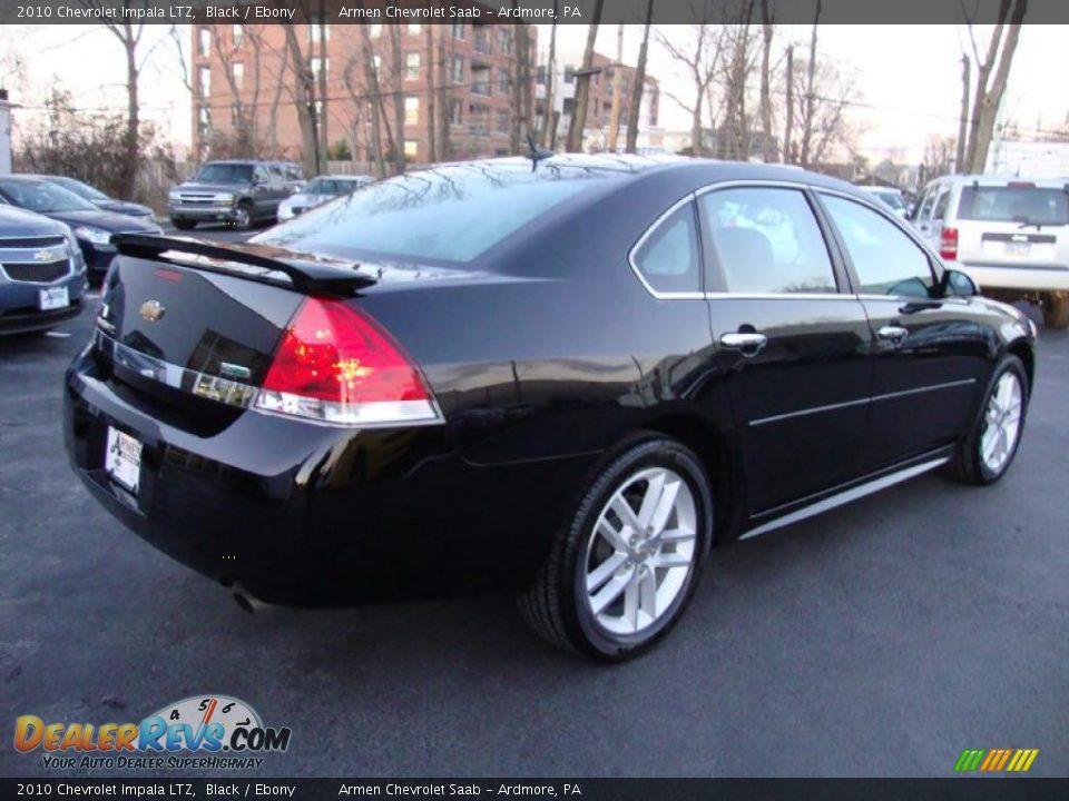 2010 chevrolet impala ltz black ebony photo 8. Cars Review. Best American Auto & Cars Review