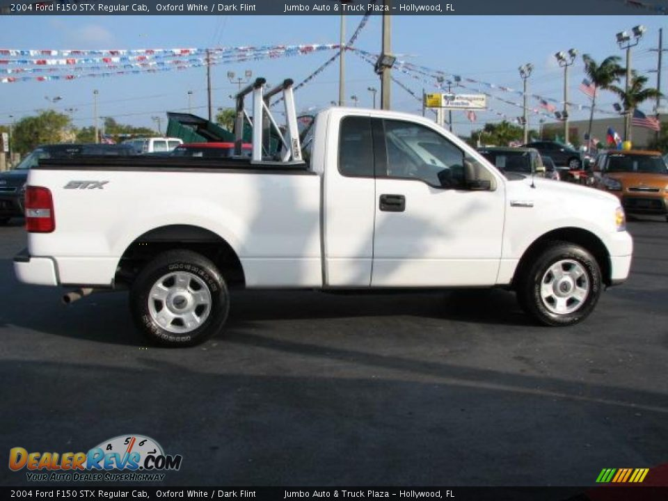 2004 ford f150 stx regular cab oxford white dark flint. Black Bedroom Furniture Sets. Home Design Ideas