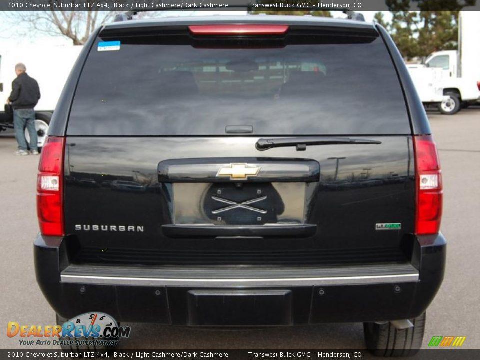 2010 Chevrolet Suburban Ltz 4x4 Black Light Cashmere
