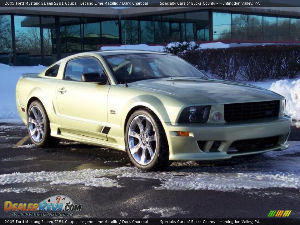 front 3 4 view of 2005 ford mustang saleen s281 coupe photo 6. Black Bedroom Furniture Sets. Home Design Ideas