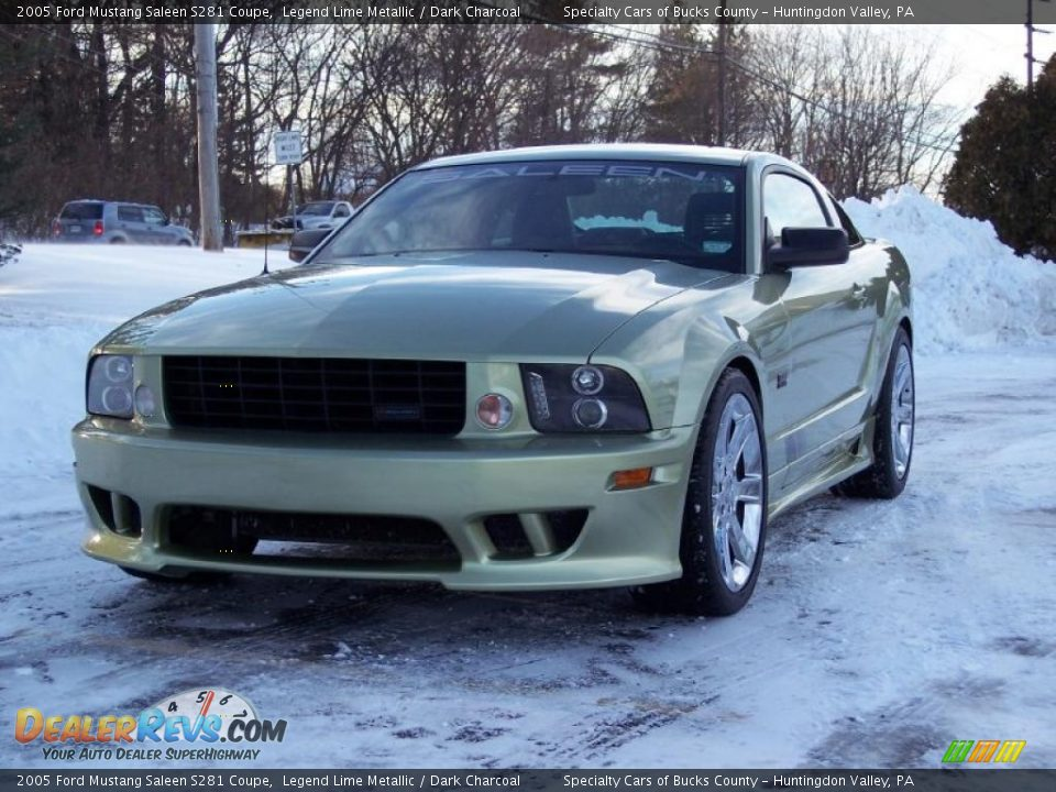 2005 ford mustang saleen s281 coupe legend lime metallic dark charcoal photo 16. Black Bedroom Furniture Sets. Home Design Ideas