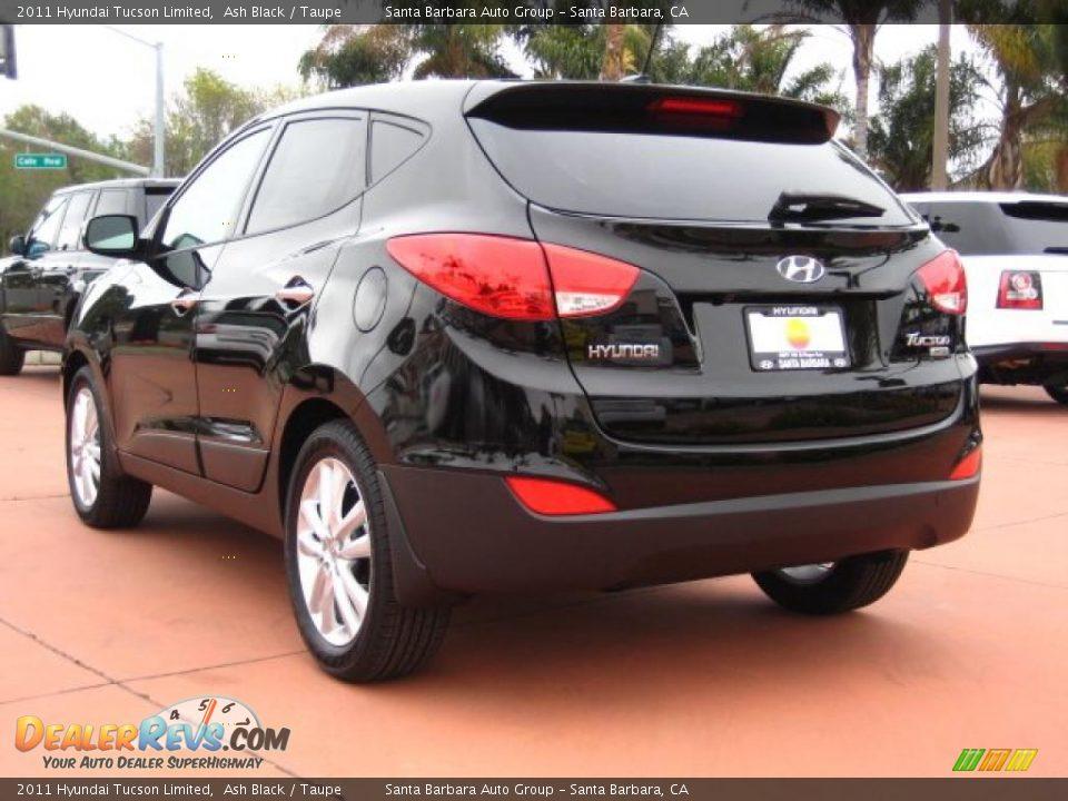 Ash Black 2011 Hyundai Tucson Limited Photo 3