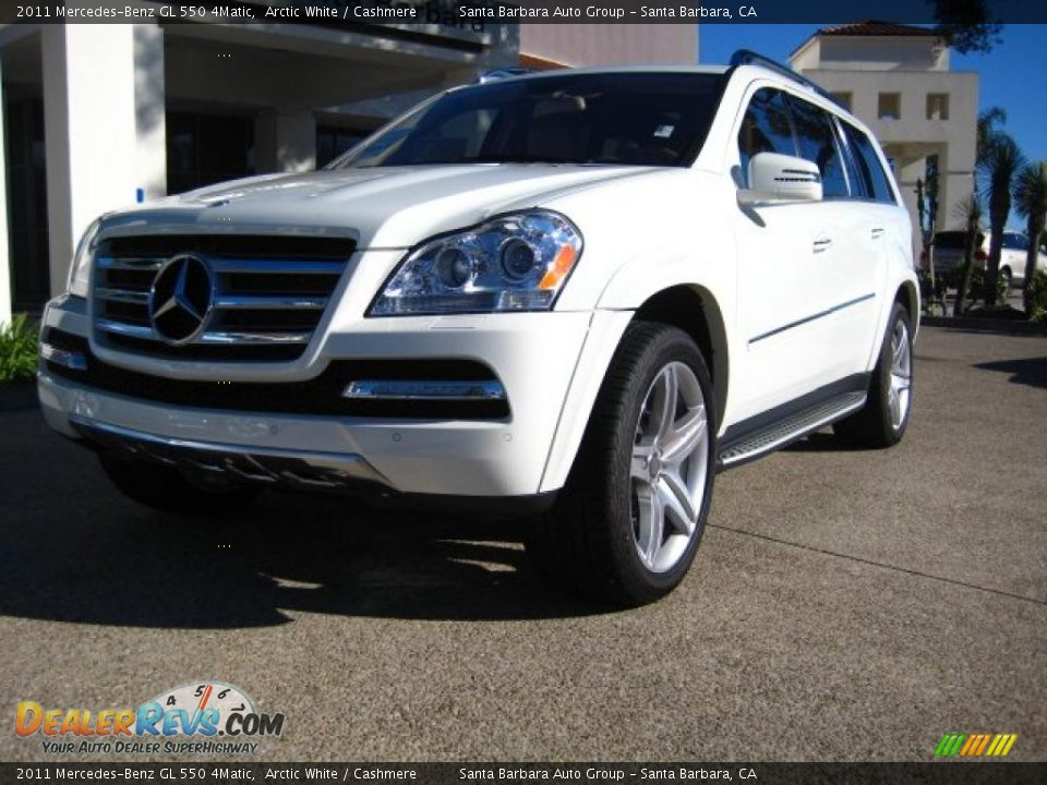 2011 mercedes benz gl 550 4matic arctic white cashmere for Mercedes benz 550 gl