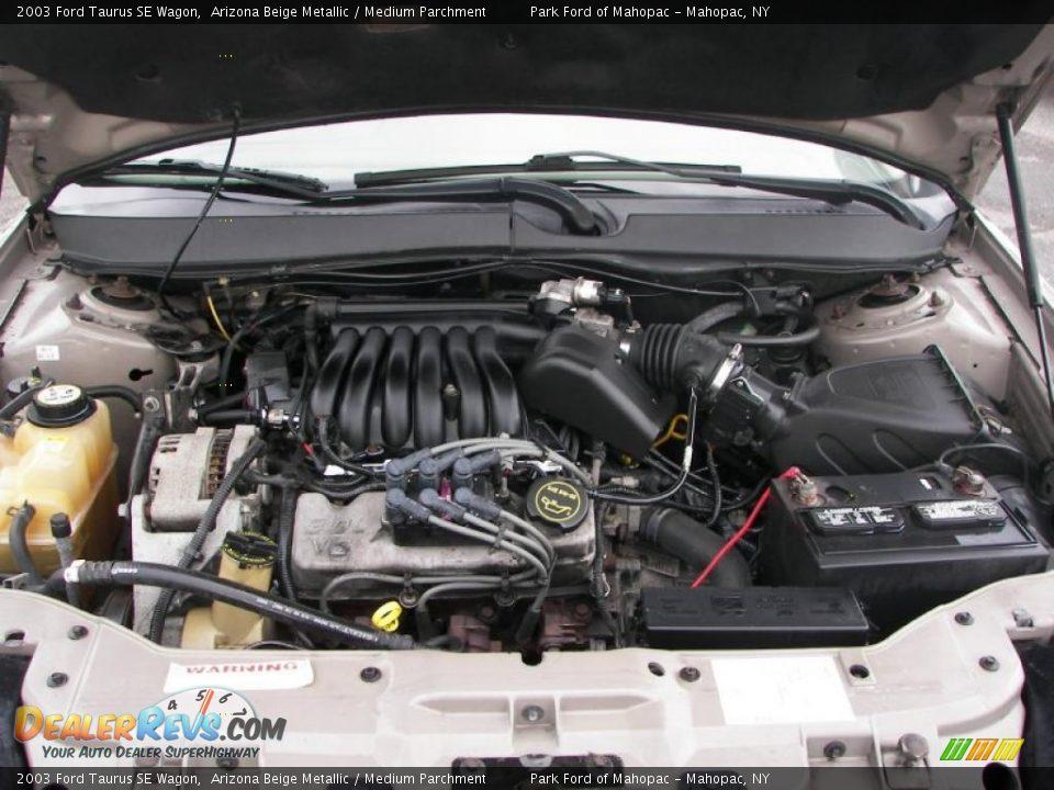 2003 Ford Taurus SE Wagon 3.0 Liter OHV 12-Valve V6 Engine Photo #12 ...