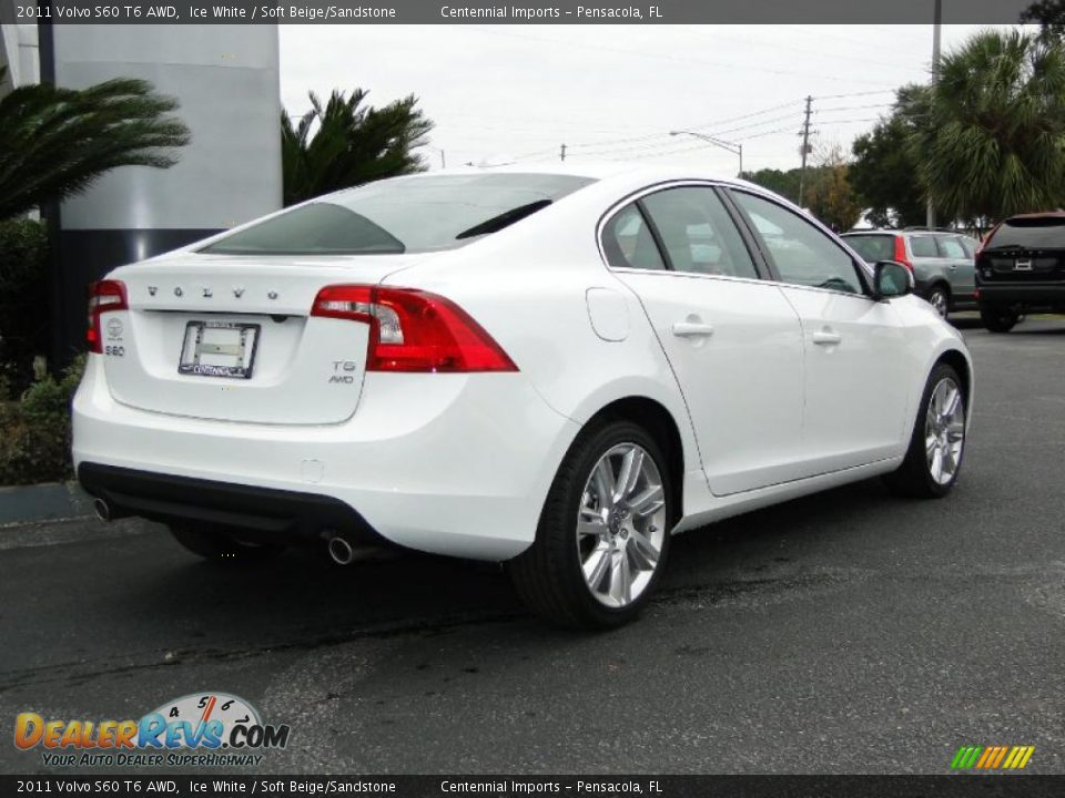 ice white 2011 volvo s60 t6 awd photo 4. Black Bedroom Furniture Sets. Home Design Ideas