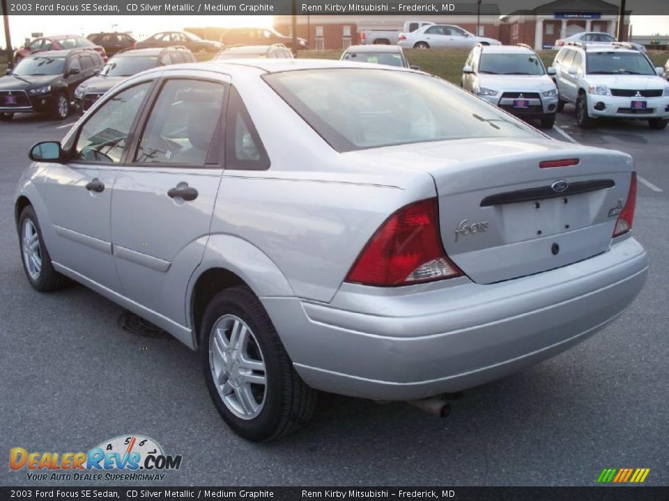 cd silver metallic 2003 ford focus se sedan photo 3. Black Bedroom Furniture Sets. Home Design Ideas
