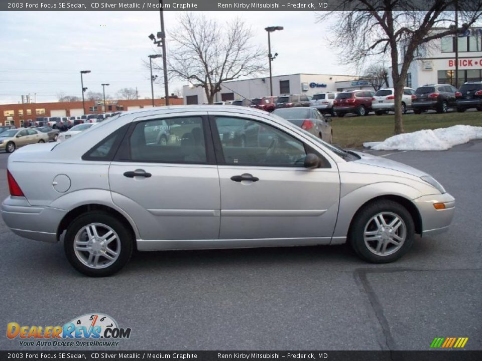 2003 ford focus se sedan cd silver metallic medium. Black Bedroom Furniture Sets. Home Design Ideas