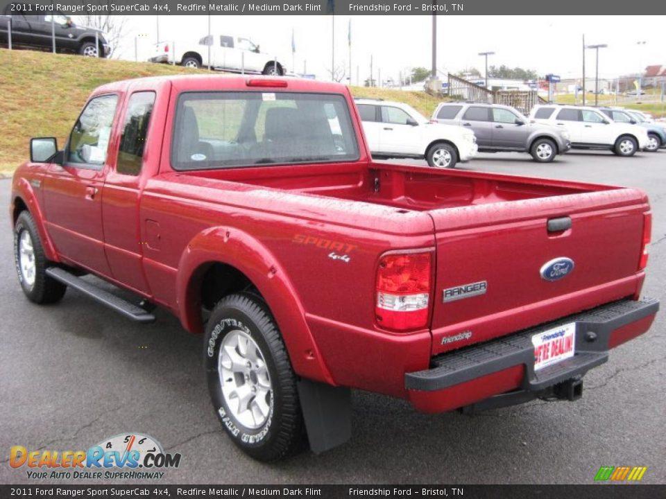 Ford Dealer Locator >> 2011 Ford Ranger Sport SuperCab 4x4 Redfire Metallic ...