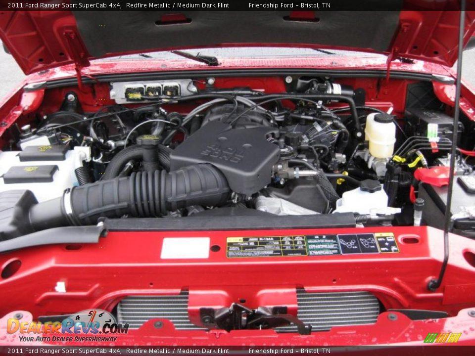 2011 Ford Ranger Sport Supercab 4x4 4 0 Liter Ohv 12