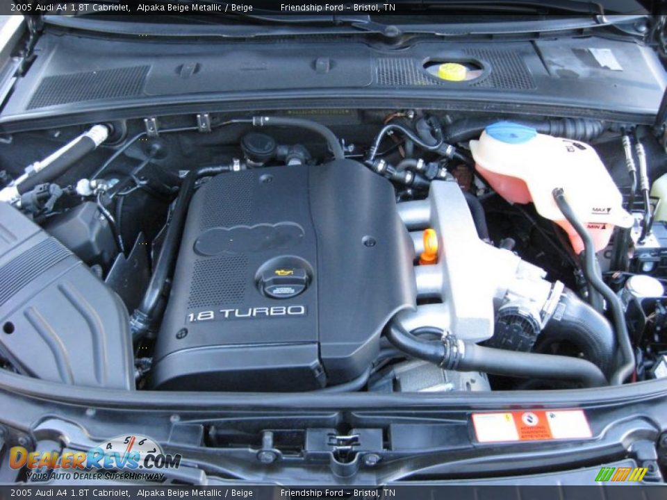 2005 audi a4 1 8t cabriolet 1 8 liter turbocharged dohc 20 for Audi a4 1 8 t motor for sale