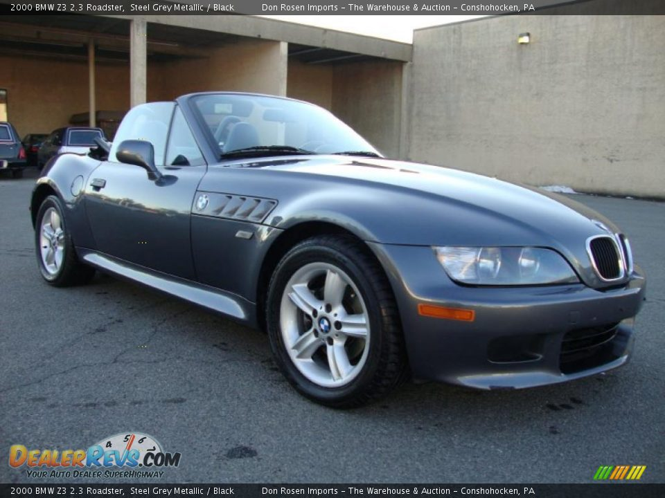 steel grey metallic 2000 bmw z3 2 3 roadster photo 5. Black Bedroom Furniture Sets. Home Design Ideas