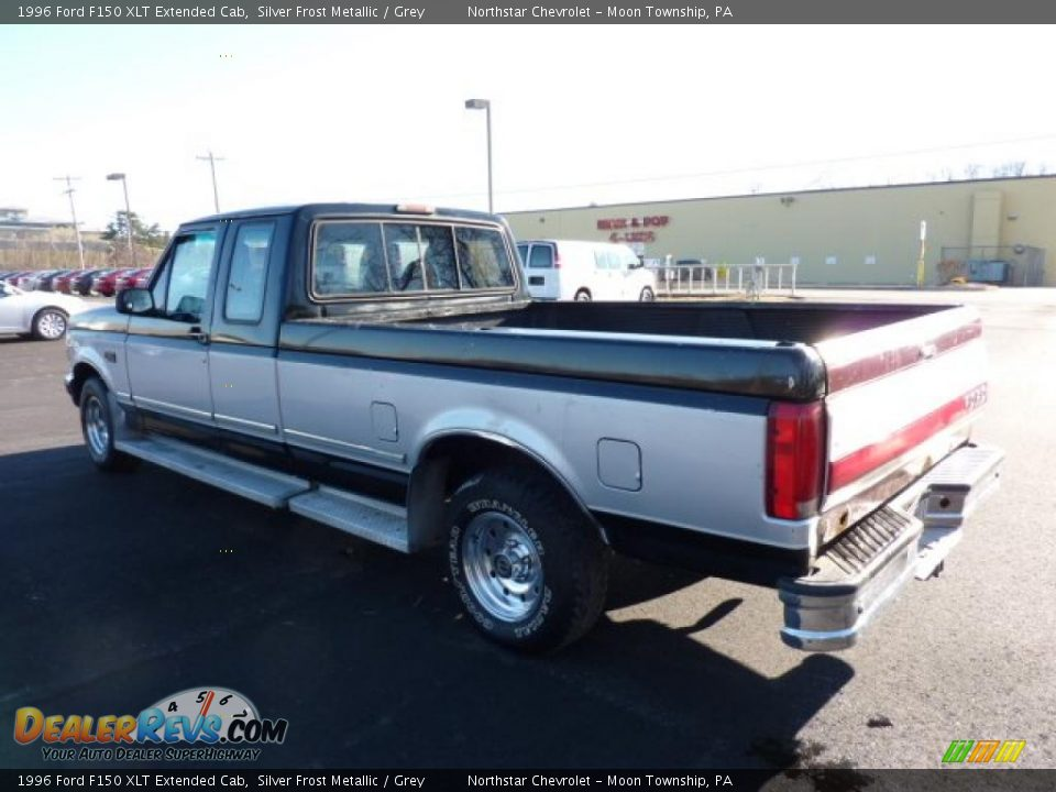1996 ford f150 xlt extended cab silver frost metallic grey photo 4. Black Bedroom Furniture Sets. Home Design Ideas
