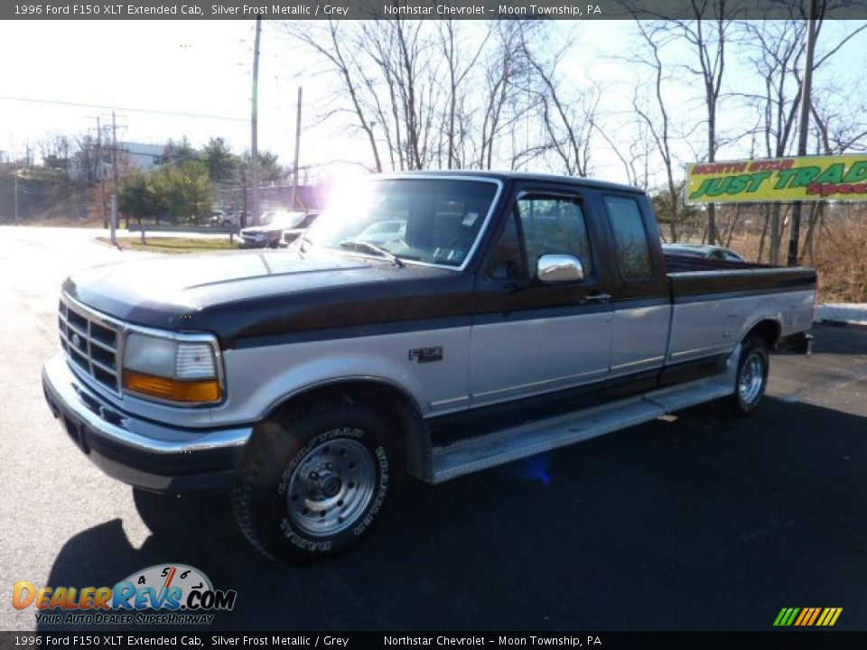 1996 ford f150 xlt extended cab silver frost metallic grey photo 5. Black Bedroom Furniture Sets. Home Design Ideas