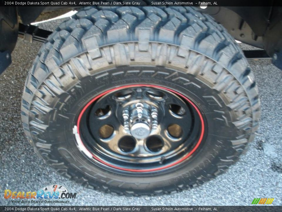 Custom Wheels Of 2004 Dodge Dakota Sport Quad Cab 4x4
