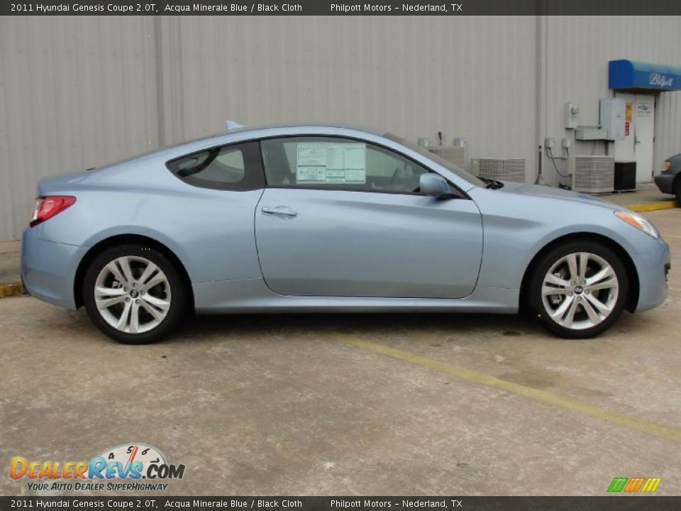 acqua minerale blue 2011 hyundai genesis coupe 2 0t photo 2. Black Bedroom Furniture Sets. Home Design Ideas