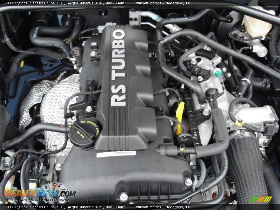 2011 Hyundai Genesis Coupe 2 0t 2 0 Liter Turbocharged