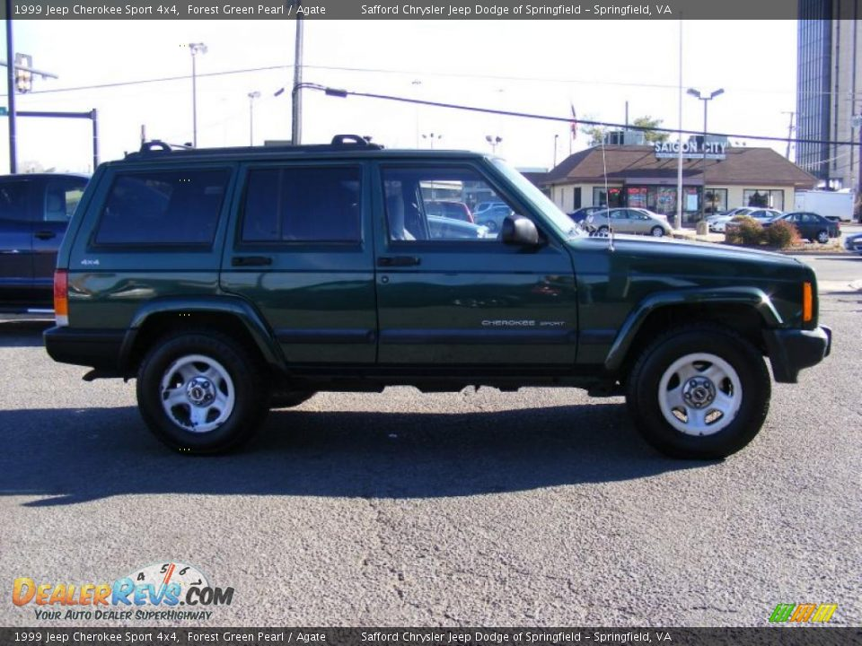 1999 jeep cherokee sport 4x4 forest green pearl agate photo 4. Black Bedroom Furniture Sets. Home Design Ideas