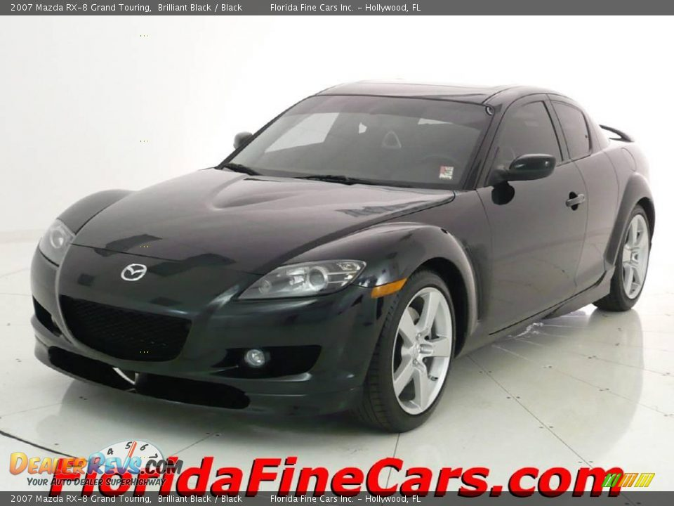 2007 mazda rx 8 grand touring brilliant black black photo 1. Black Bedroom Furniture Sets. Home Design Ideas