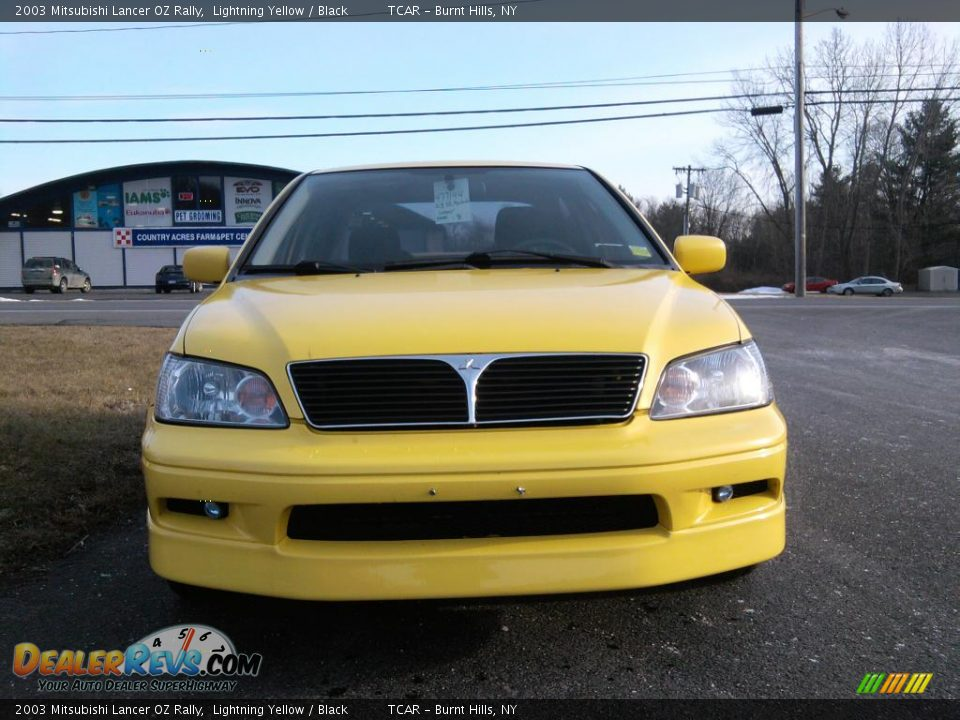 2003 mitsubishi lancer oz rally lightning yellow black. Black Bedroom Furniture Sets. Home Design Ideas