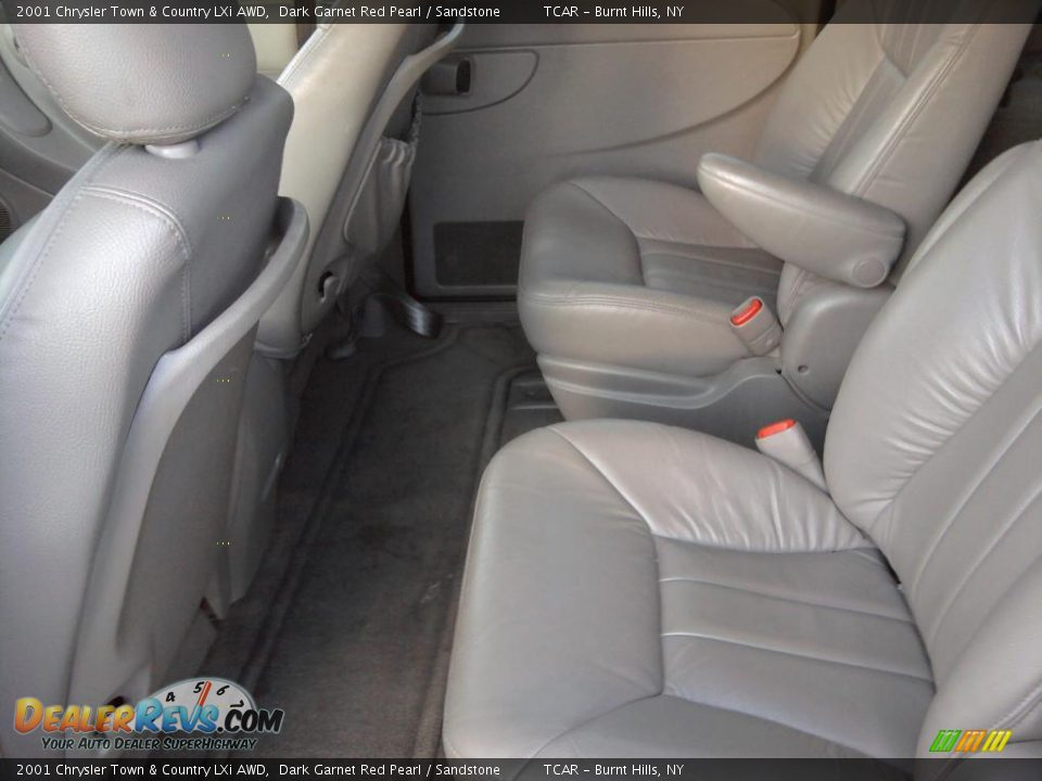 Sandstone Interior 2001 Chrysler Town Country Lxi Awd Photo 8