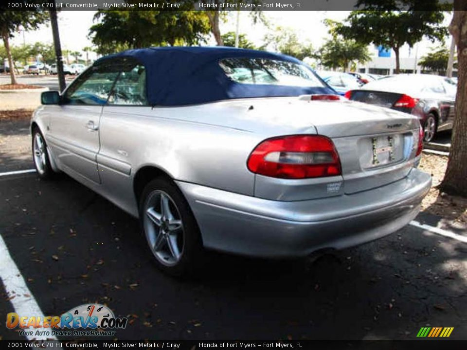 Volvo C70 Convertible >> 2001 Volvo C70 HT Convertible Mystic Silver Metallic / Gray Photo #4 | DealerRevs.com