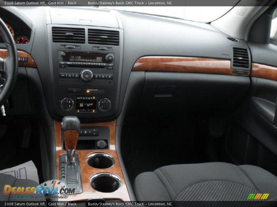 Black Interior 2008 Saturn Outlook Xr Photo 17 Dealerrevs Com
