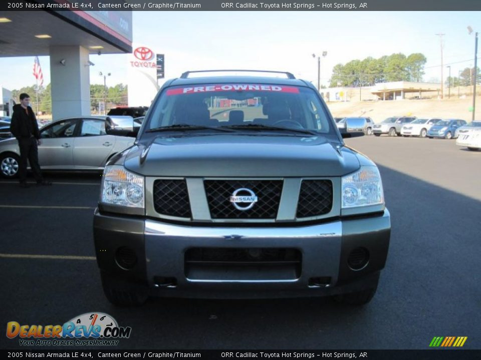 2005 nissan armada le 4x4 canteen green graphite. Black Bedroom Furniture Sets. Home Design Ideas