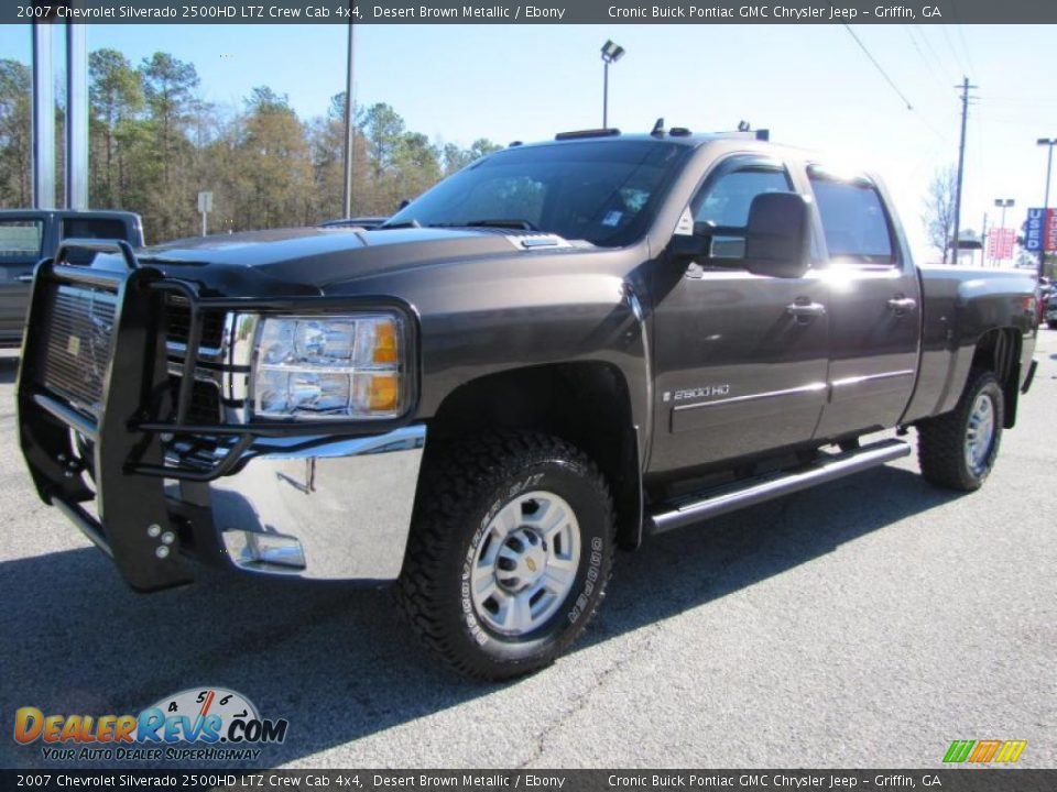 2007 chevrolet silverado 2500hd ltz crew cab 4x4 desert. Black Bedroom Furniture Sets. Home Design Ideas