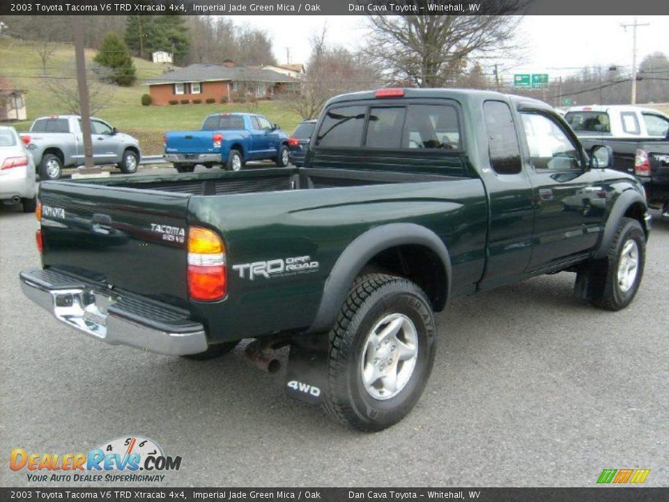 2003 Toyota Tacoma V6 Trd Xtracab 4x4 Imperial Jade Green