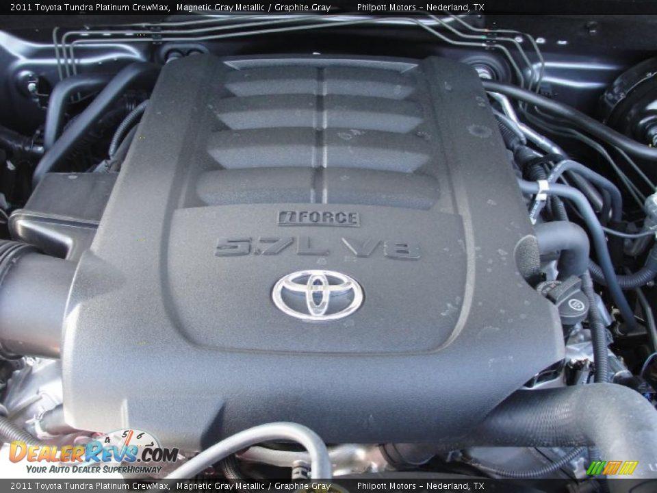 2011 Toyota Tundra Platinum Crewmax 5 7 Liter I