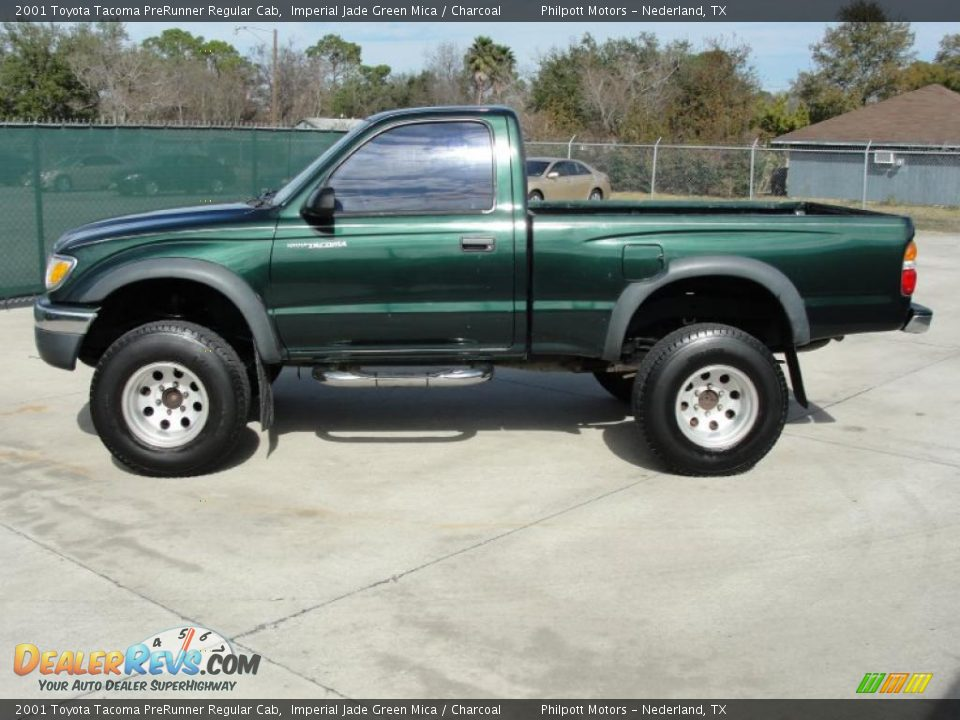 2001 toyota tacoma prerunner regular cab imperial jade green mica charcoal photo 6. Black Bedroom Furniture Sets. Home Design Ideas