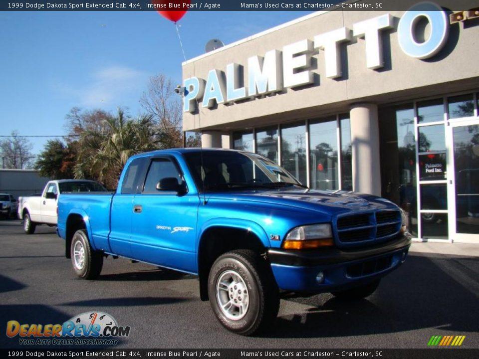 1999 Dodge Dakota Sport Extended Cab 4x4 Intense Blue