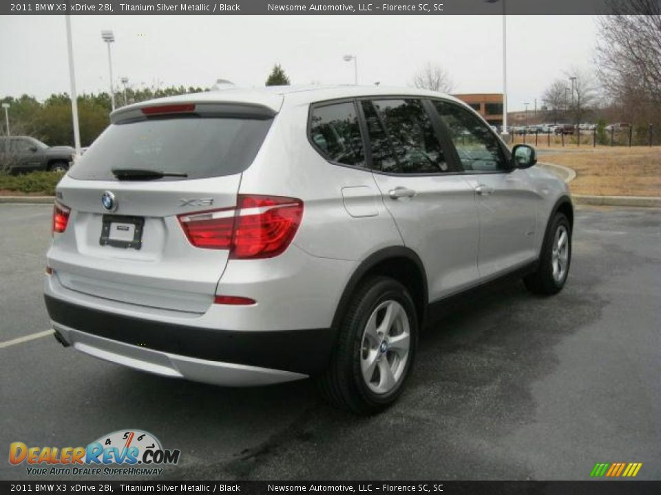 titanium silver metallic 2011 bmw x3 xdrive 28i photo 2. Black Bedroom Furniture Sets. Home Design Ideas