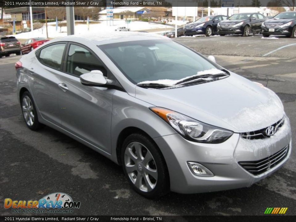 Elantra 2017 Silver >> Radiant Silver 2011 Hyundai Elantra Limited Photo #4 | DealerRevs.com