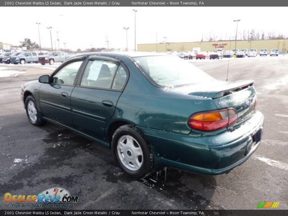 2001 chevrolet malibu ls sedan dark jade green metallic. Black Bedroom Furniture Sets. Home Design Ideas