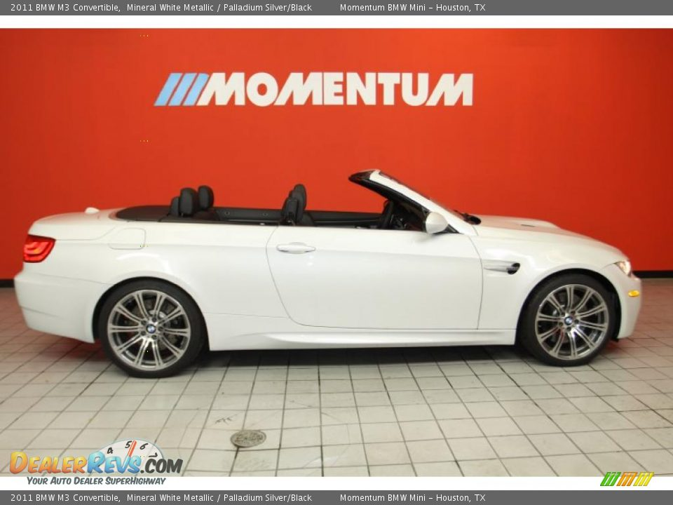 2011 bmw m3 convertible mineral white metallic palladium. Black Bedroom Furniture Sets. Home Design Ideas