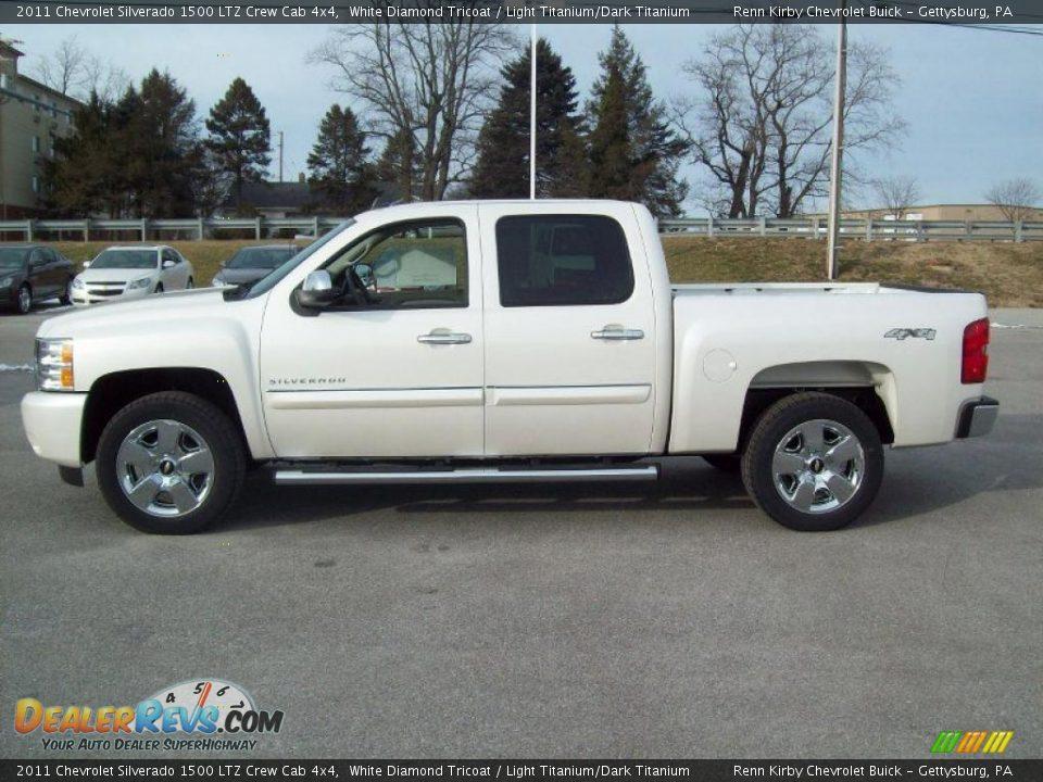 2011 Chevy Silverado White