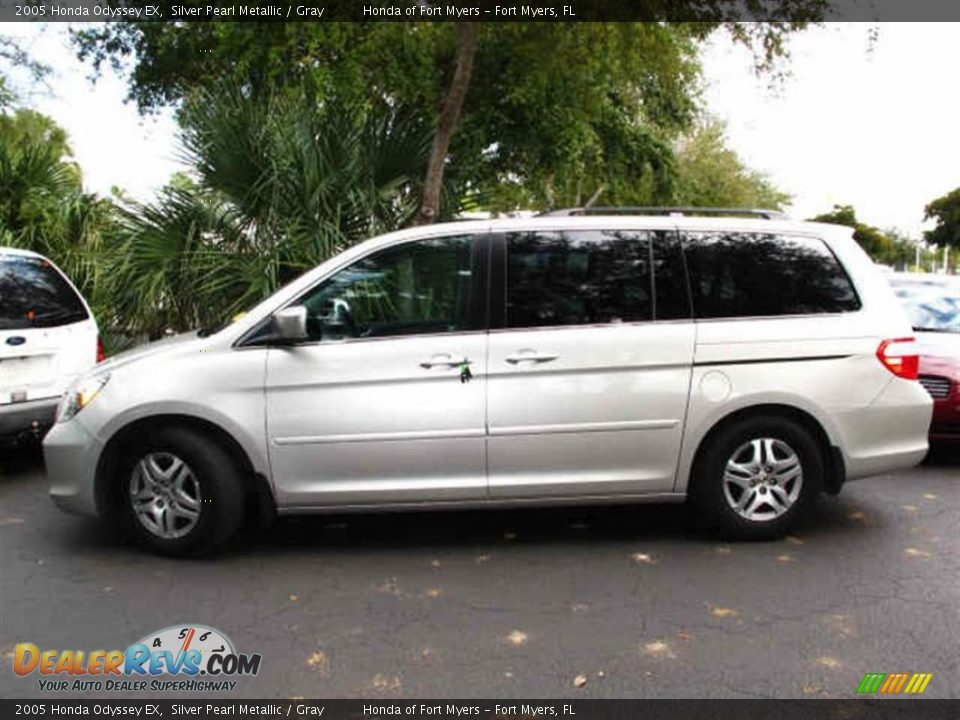 2005 honda odyssey ex silver pearl metallic gray photo 2 dealerrevs