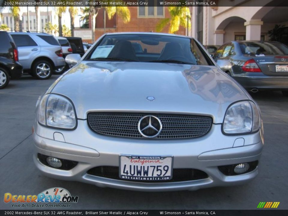 2002 mercedes benz slk 32 amg roadster brilliant silver metallic alpaca grey photo 8. Black Bedroom Furniture Sets. Home Design Ideas