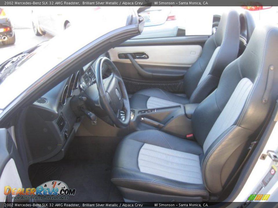 Alpaca Grey Interior - 2002 Mercedes-Benz SLK 32 AMG ...