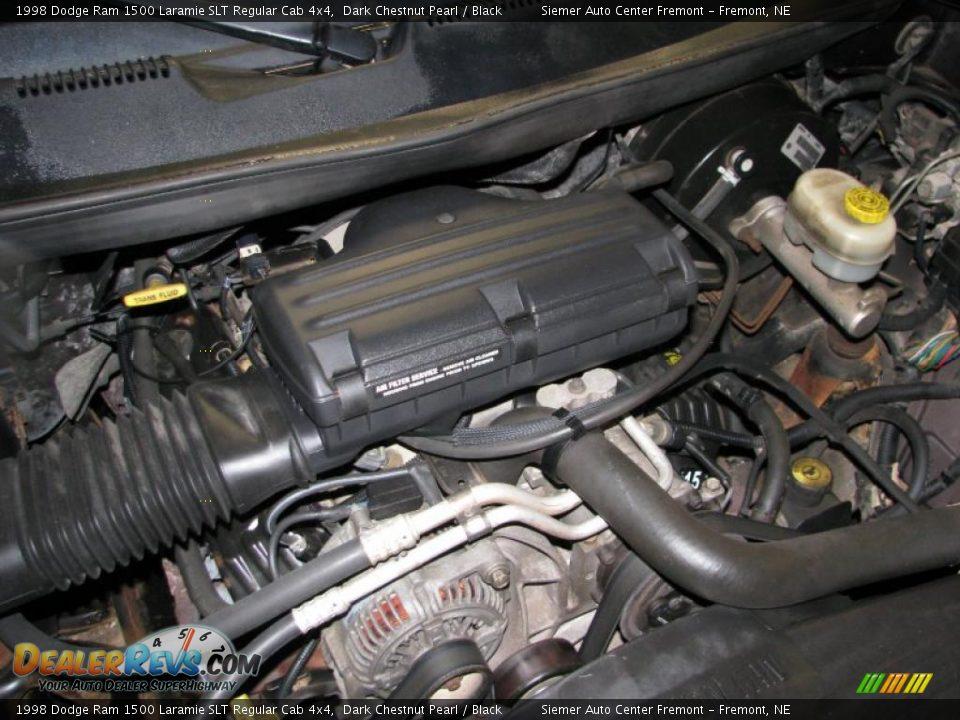 1998 dodge ram 1500 laramie slt regular cab 4x4 5 9 liter ohv 16 valve v8 engine photo 17. Black Bedroom Furniture Sets. Home Design Ideas