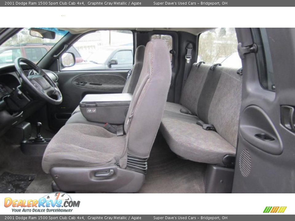 agate interior 2001 dodge ram 1500 sport club cab 4x4. Black Bedroom Furniture Sets. Home Design Ideas