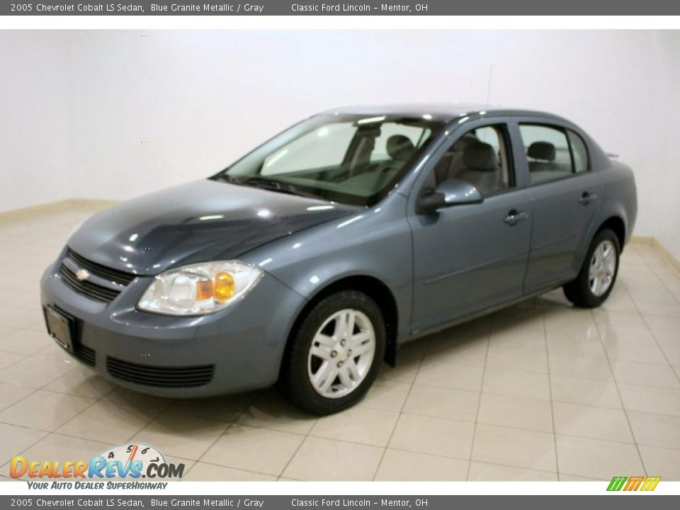 2005 chevrolet cobalt ls sedan blue granite metallic. Black Bedroom Furniture Sets. Home Design Ideas