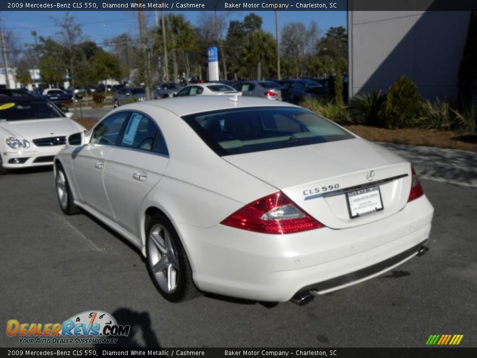 diamond white metallic 2009 mercedes benz cls 550 photo. Black Bedroom Furniture Sets. Home Design Ideas