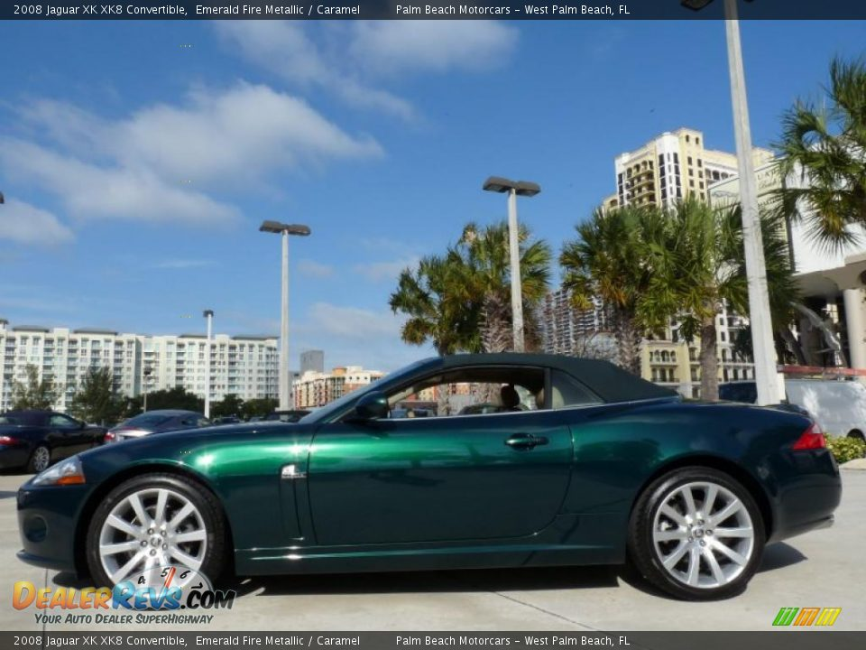 Jaguar Emerald Fire Emerald Fire Metallic 2008
