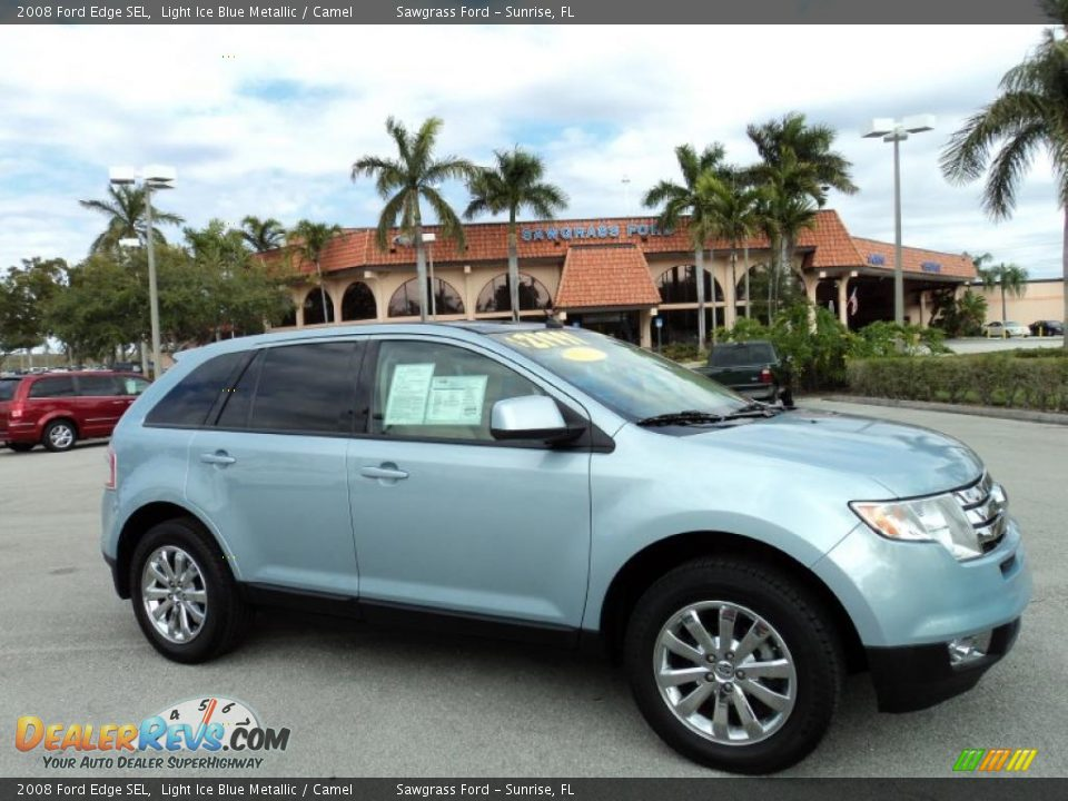 2008 ford edge limited blue book value