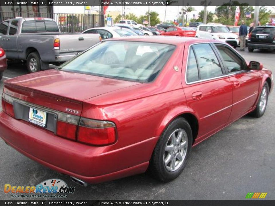 1999 cadillac seville sts crimson pearl pewter photo 10. Cars Review. Best American Auto & Cars Review