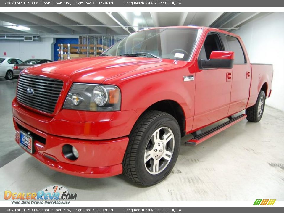 front 3 4 view of 2007 ford f150 fx2 sport supercrew photo 9. Black Bedroom Furniture Sets. Home Design Ideas