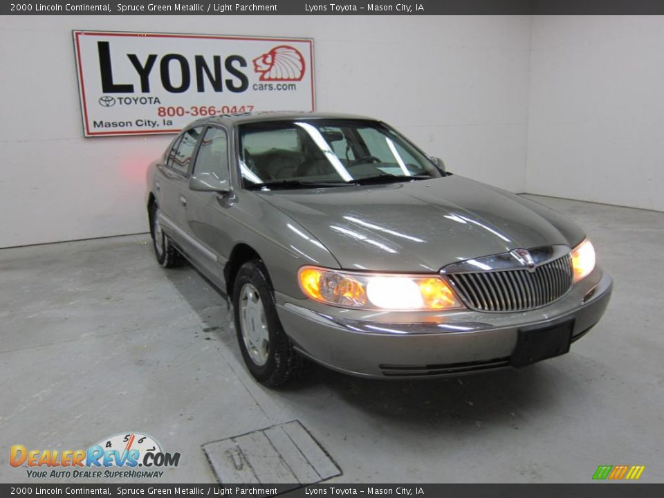 2000 lincoln continental spruce green metallic light for State motors lincoln dealer manchester nh