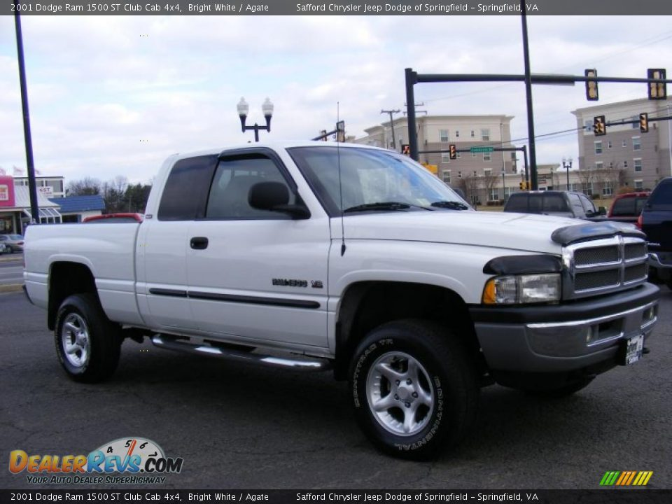 2001 dodge ram 1500 st club cab 4x4 bright white agate photo 3. Black Bedroom Furniture Sets. Home Design Ideas